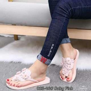 Slipper Sandals  Sandal Jelly Rubber Korean