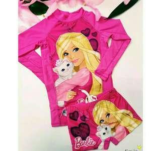 Barbie Rash Guard Terno