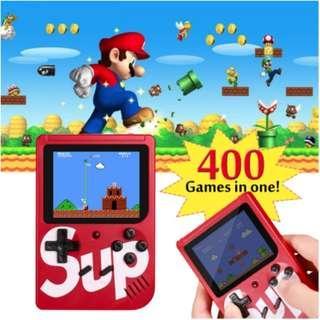 400 Games in 1 SUPREME Retro Gameboy | Portable Game Console