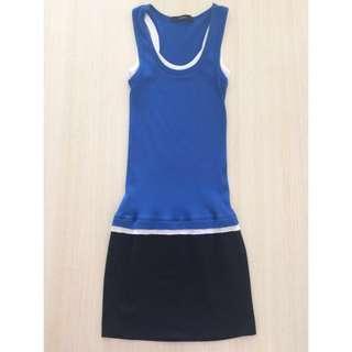 Mphosis Mini Dress Biru