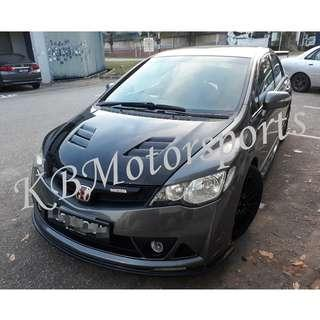 Honda Civic FD Mugen RR Bodykit With Spray Color