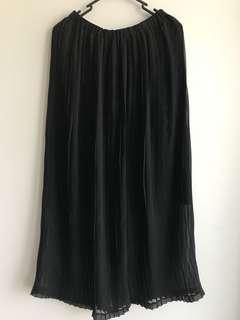Maxi Pleat Skirt