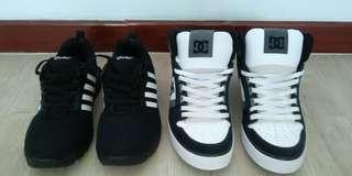 Checker shoe