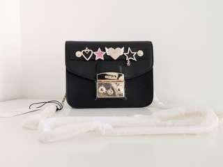 Sale!!!Furla Metropilis crossbody bag with charm