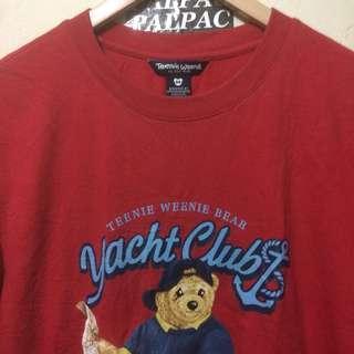 "Ts Teenie Weenie Bear ""Yacht Club⚓️"" Sz M"