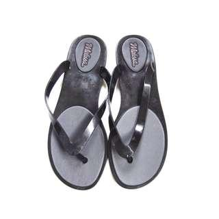 Melissa Black Slippers