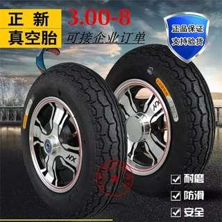 Mobility scooter tires