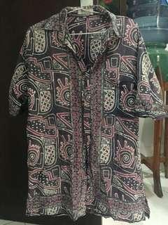 Kemeja Pendek Batik