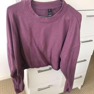 factorie crop jumper sz M