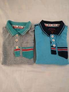 Giordano polo shirt bundle 4yrs