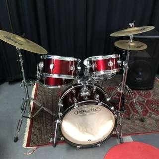Pacific Chameleon PDP Drum Set