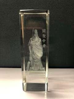 Laser engraved GuanYu(关羽)