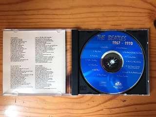 The Beatles oldies CD 披頭四