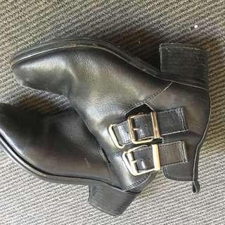 Tony Bianco Buckle Boots