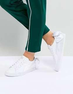 Puma basket bow white sneakers size US 6 EUR 36
