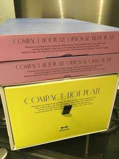 Bruno hot plates (total 3 items)