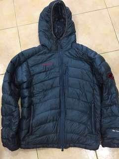 Mammut Down hoody jacket Asia size M