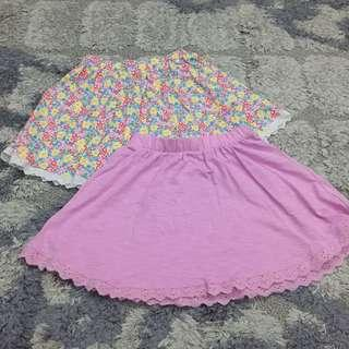 Mothercare girl skirts set of 2 pieces size 8y