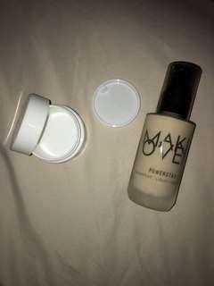 (share in jar) Make over powersyay weightless liquid foundation