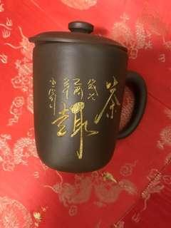 正宗杭州烏鎮紫砂茶杯 purple sand cups