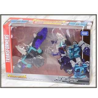 [Pre-order] Takara Transformers Legends LG-61 LG61 Clonetron Pounce & Wingspan set