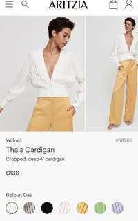 Aritzia Thais Cardigan XXS