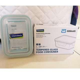 New Glasslock Tempered Glass Food Container 715ml (Made in Korea)