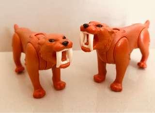 Playmobil Sabre Tooth Cats