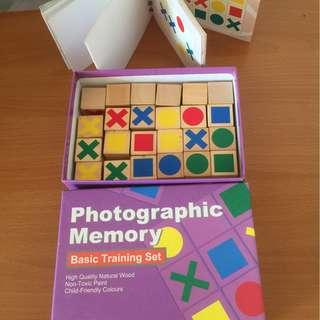 Block Game for Memory Training  [SOLD!}