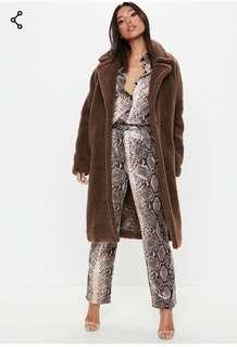 Teddy Coat MISSGUIDED