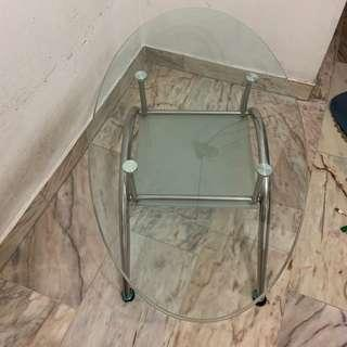 🚚 Glass Coffee Table Fast Deal @ $18