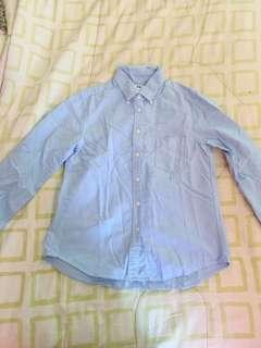 Uniqlo 100% cotton button down