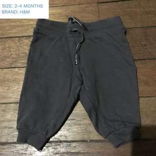 H&M 2-4mos pants