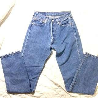Authentic Levis Mom Jeans / High waisted