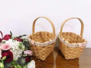 🚚 Flower girl basket for wedding