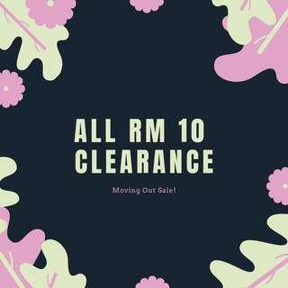 ALL RM10 CLEARANCE #MMAR18