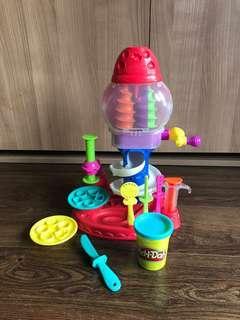 Gumball Play Doh Set