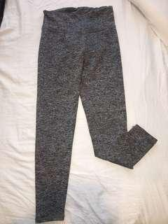 Salt and pepper grey cotton on body sport leggings