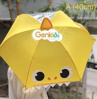 韓國baby shark 立體兒童雨傘