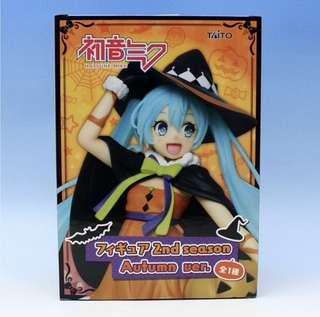 日本直送景品~初音未來Hatsune Miku Figure 2nd season Autumn ver.