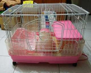兔子籠/小型寵物用品64x45x50
