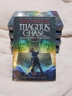 Rick Riordan Magnus Chase and the Gods of Asgard Book1 NEW