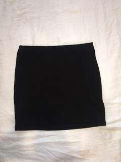 Black mini skirt - Supre size XXS