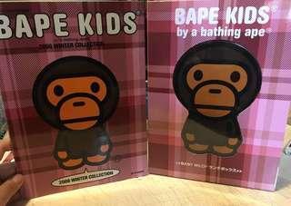 [雜貨]Baby Milo 絕版2008年BAPE KIDS便當盒mook book
