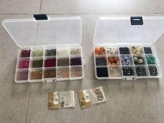 Crystal parts for accessories