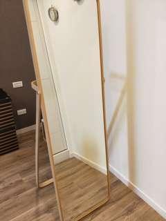 IKEA 鏡子 立鏡 全身鏡