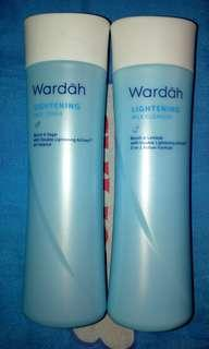 (Murah + Bonus) Wardah Lightening Toner n Milk Cleanser