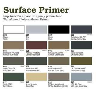Vallejo Surface Primers 60ml 200ml