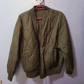 GU reversible bomber jacket