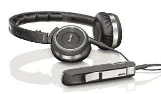 AKG K480NC noise cancelling, folding headphones